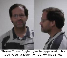 Brigham Cecil County Mug Shot