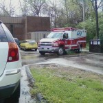 Ambulance in Sharonville-Haskell 03282012