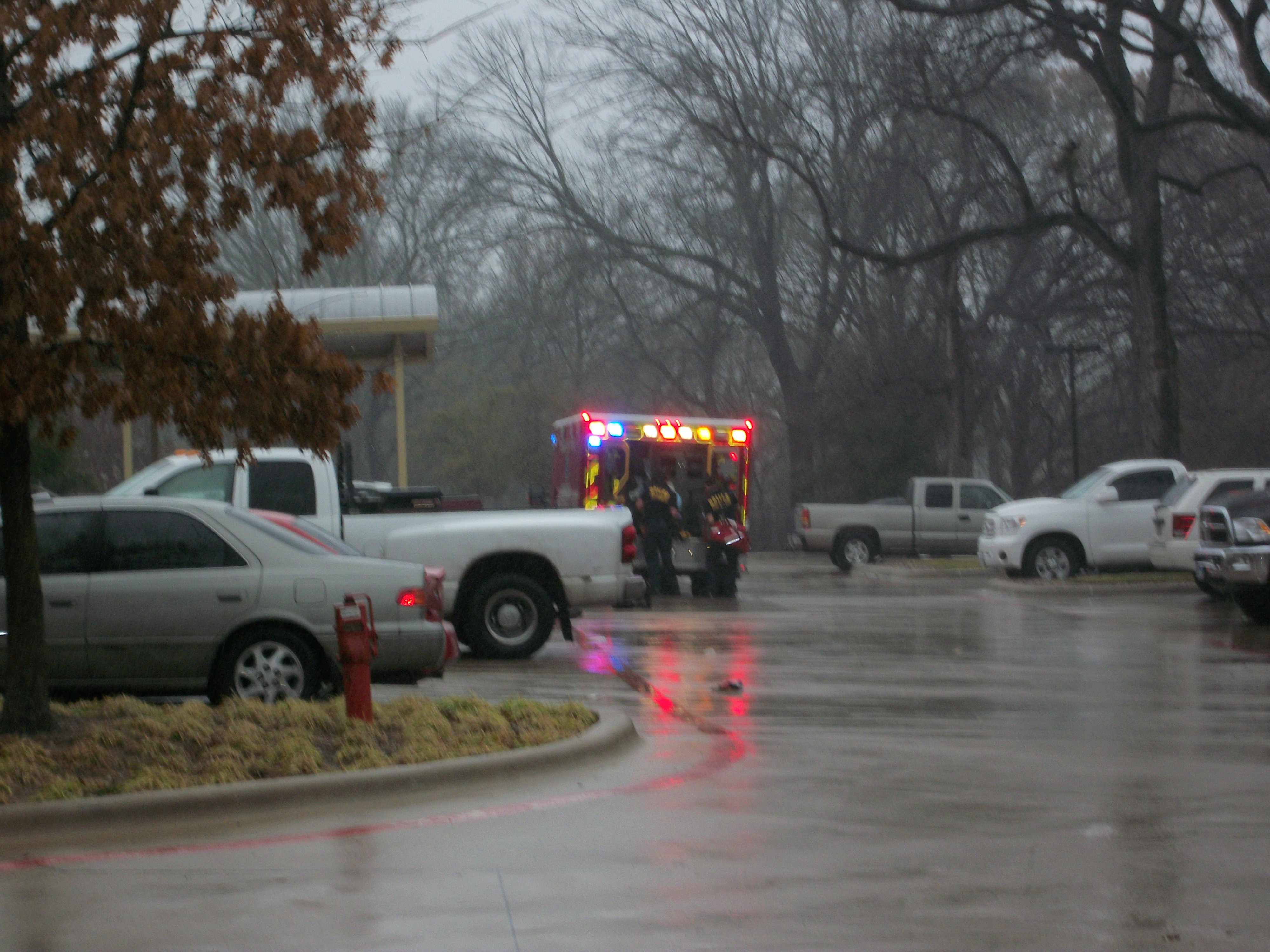 Ambulance at Southwestern Women's - 1