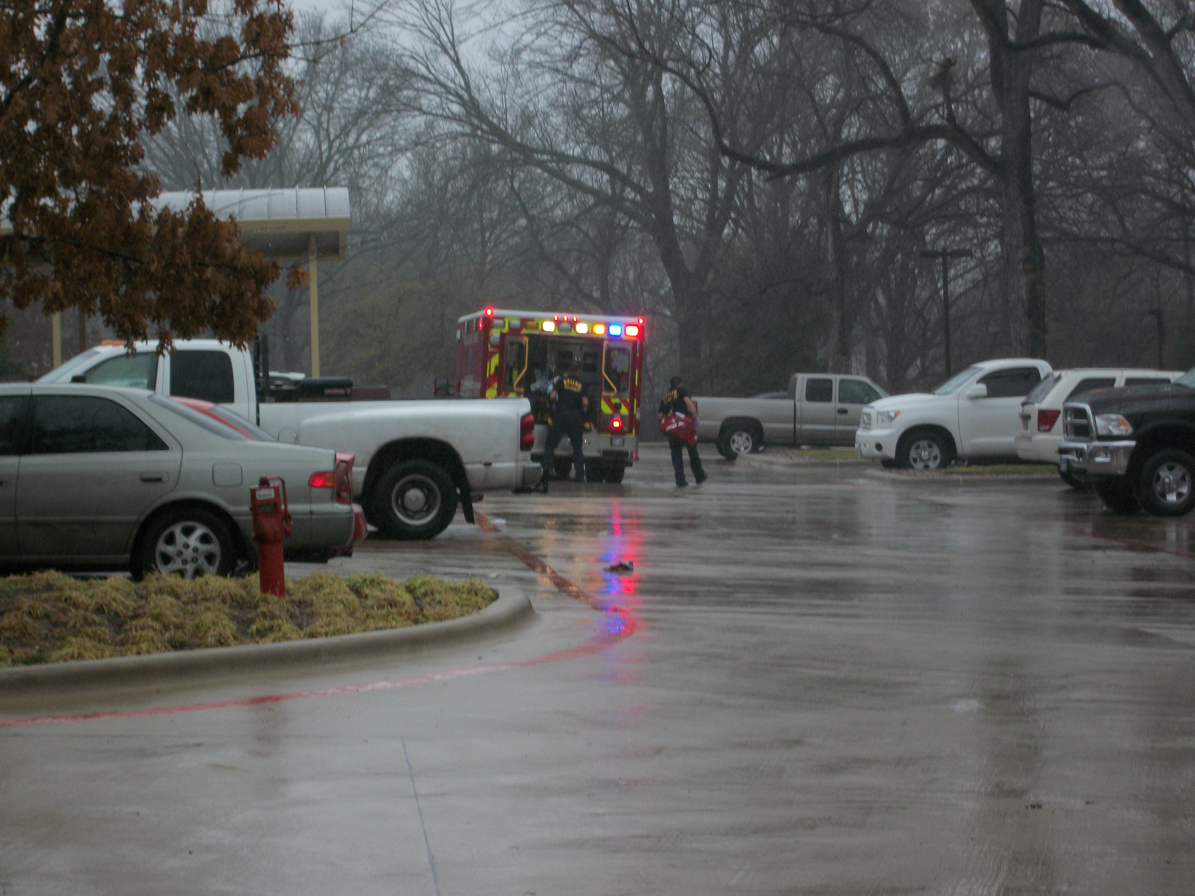 Ambulance at Southwestern Women's - 2