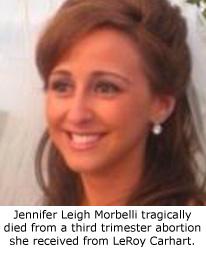 Jennifer_Morbelli - Maryland Abortion Death