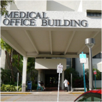 Medical Office Building located at 1190 NW 95th St. in Miami, FL. Abortions are performed in a private doctor's office suite.
