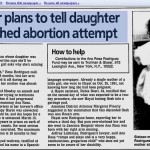 Mother plans to tell daugher of botched abortion attempt - Ocala Star-Banner, 2-25-1993