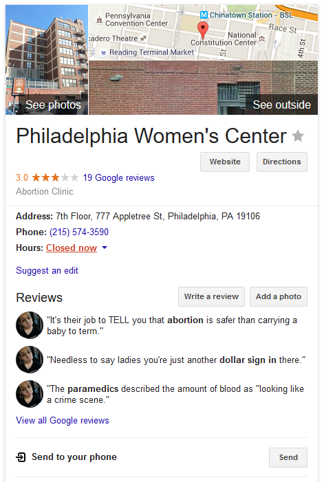 Philadelphia, PA - Philadelphia Women's Center 6
