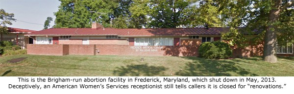 Frederick, MD - American Women's Services (closed)