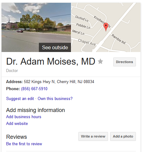 Moises, Adam - Cherry Hill Women's Center abortion clinic