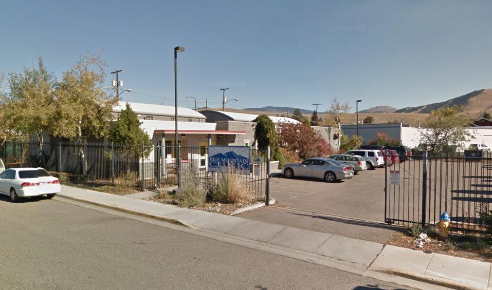 BLUE MONTAIN CLINIC 610 N CALIFORNIA ST. – MISSOULA, MT 59802