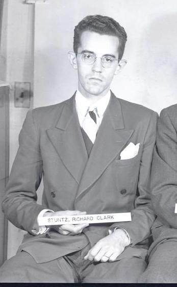 Stuntz, Richard C. - Vanderbilt School of Medicine, 1946 class photo 2