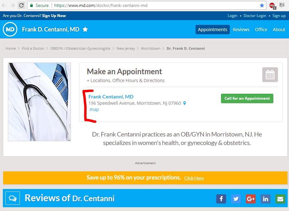 Frank Centanni Abortiondocs