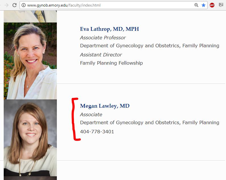 Lawley, Megan -- Emory.edu - faculty pic