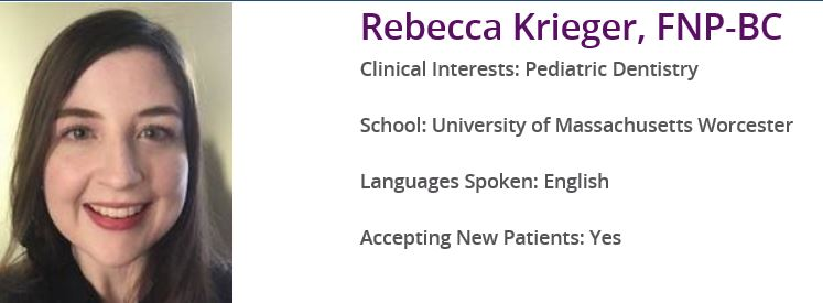 Central Massachusetts PP (Worcester, MA) -- Rebecca Krieger bio (nurse in PP lawsuit)