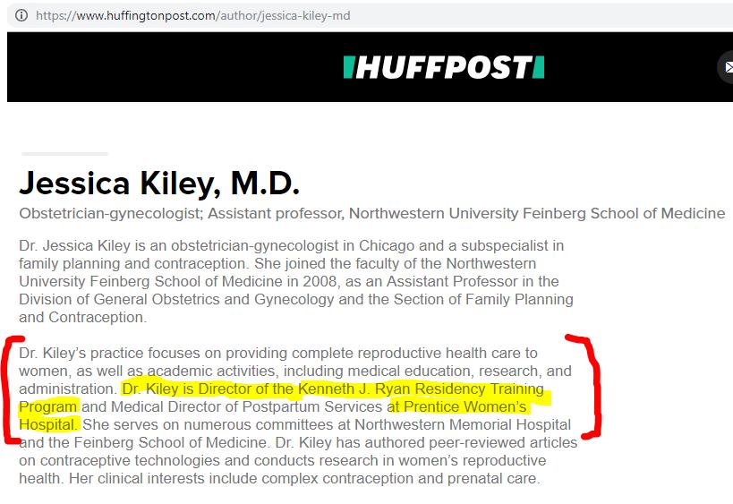 Jessica W  Kiley | AbortionDocs