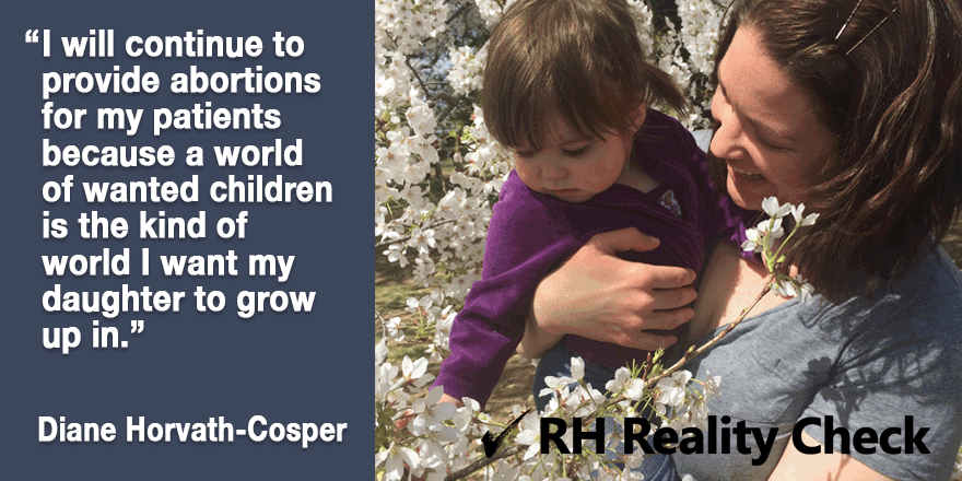 Providing abortions - Quote by Diane Horvath-Cosper