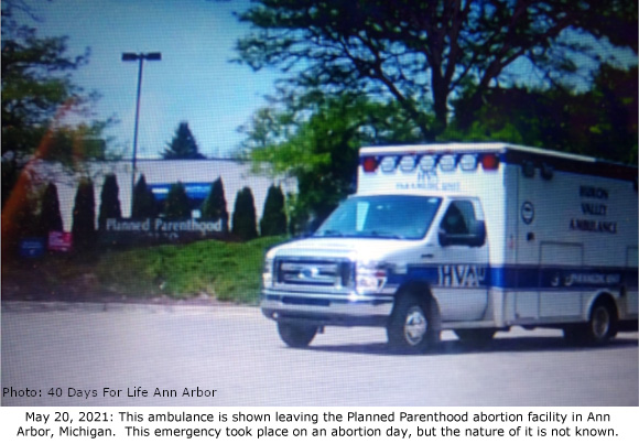 Ann Arbor PP Ambulance 5-20-2021